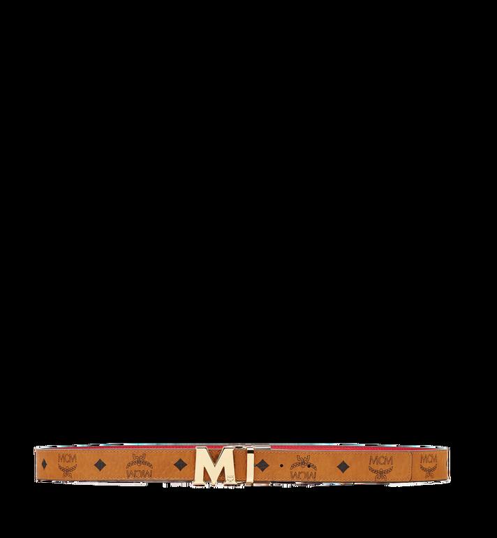 "MCM Color Visetos Reversible Belt 1"" MYB6AVC09RU001 AlternateView3"