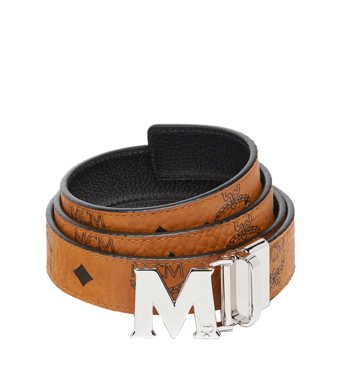 MCM Ceinture amovible Claus M 3 cm en Visetos Alternate View