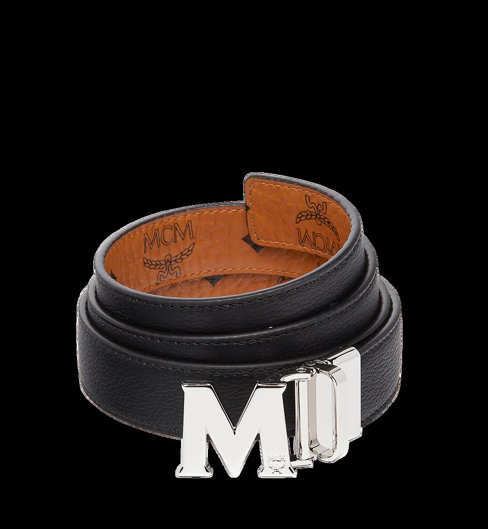 MCM Visetos 系列的 Claus M 1 吋可翻轉皮帶 Cognac MYB6AVC10CO001 更多視圖 1