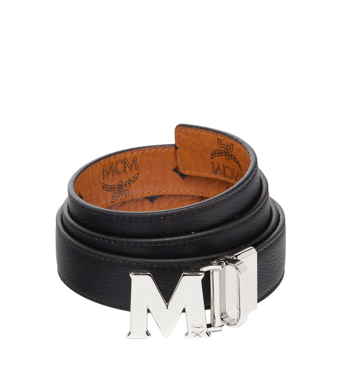 MCM Ceinture amovible Claus M 3 cm en Visetos Cognac MYB6AVC10CO001 Alternate View 2