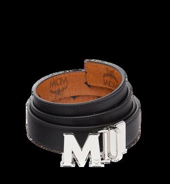 "MCM Color Visetos Reversible Belt 1"" MYB6AVC10CO001 AlternateView2"