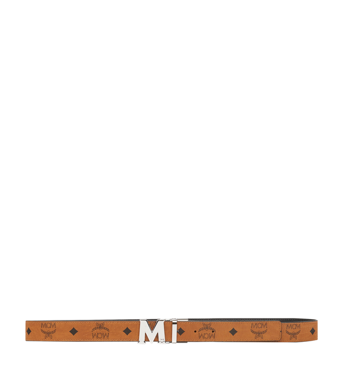 MCM Ceinture amovible Claus M 3 cm en Visetos Cognac MYB6AVC10CO001 Alternate View 3