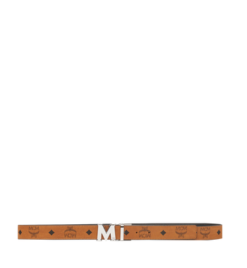 "MCM Color Visetos Reversible Belt 1"" Alternate View 3"