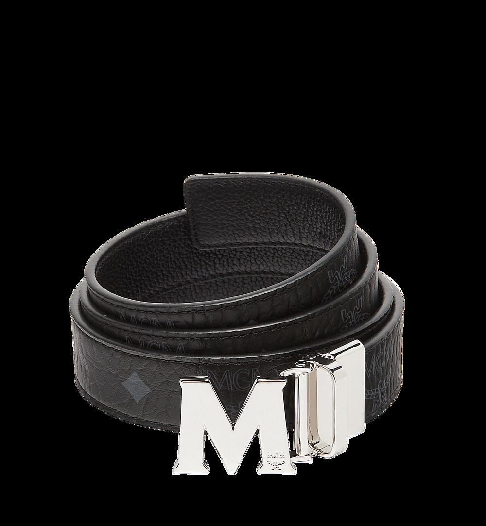 MCM Visetos 系列的 Claus M 1.2 吋可翻轉皮帶 Black MYB7AVC10BK001 更多視圖 1