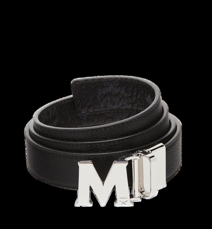 "MCM Claus M Reversible Belt 1.2"" in Visetos Black MYB7AVC10BK001 Alternate View 2"