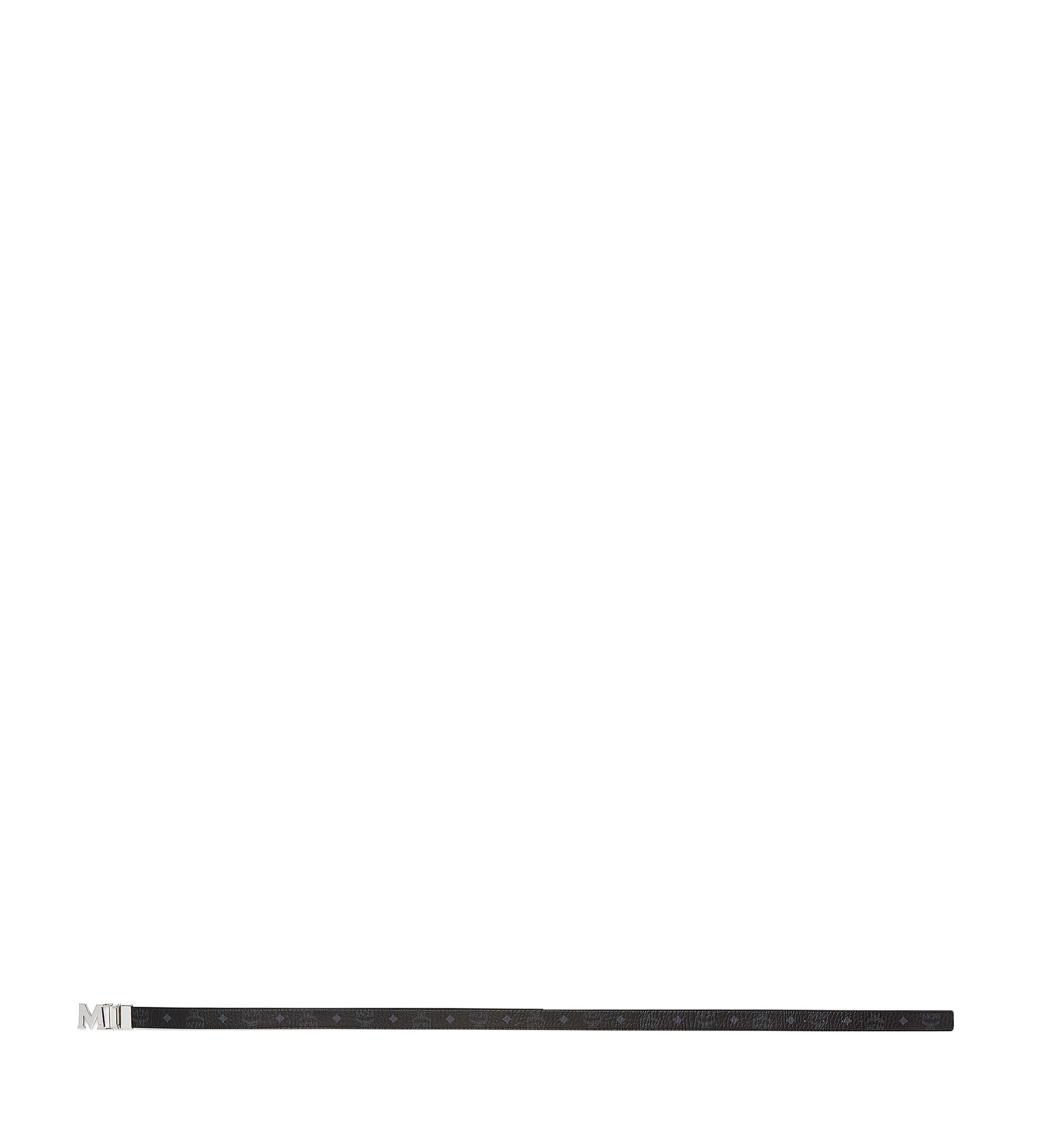 MCM Visetos 系列的 Claus M 1.2 吋可翻轉皮帶 Black MYB7AVC10BK001 更多視圖 2