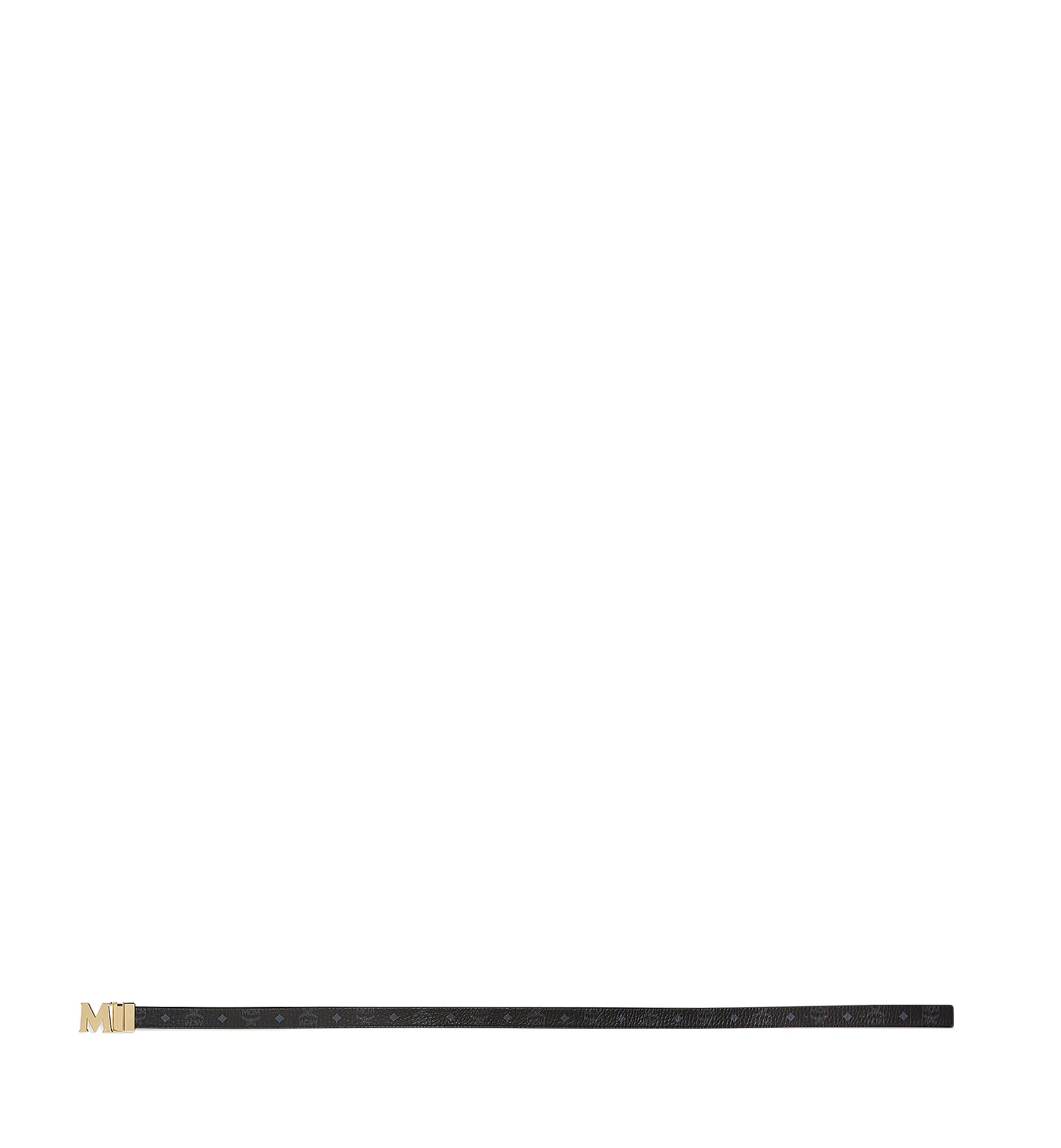 MCM Claus M Reversible Belt 3 cm in Visetos Black MYB7SVC09BK001 Alternate View 2