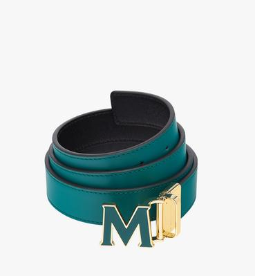 "Claus Enamel M Reversible Belt 1.2"" in Leather"