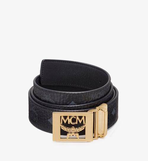 MCM Collection Reversible Belt in Visetos
