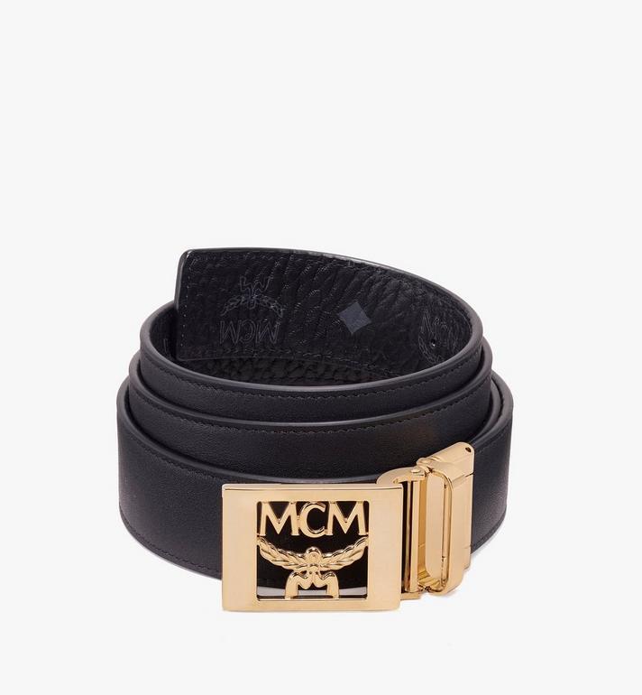 MCM 〈MCM コレクション〉ヴィセトス リバーシブル ベルト Black MYB9AMM36BK001 Alternate View 2