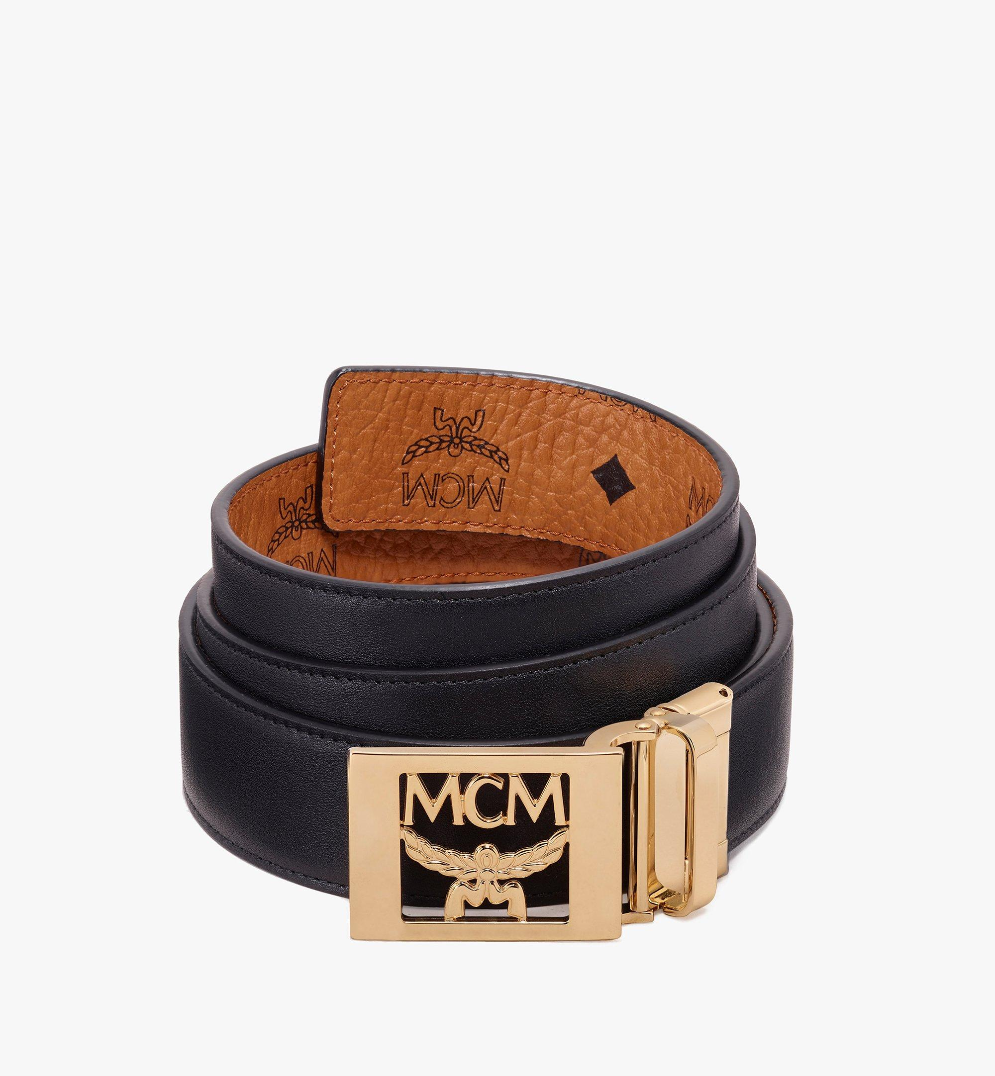 "MCM MCM Laurel Reversible Belt 1.5"" in Visetos Cognac MYB9AMM36CO001 Alternate View 2"