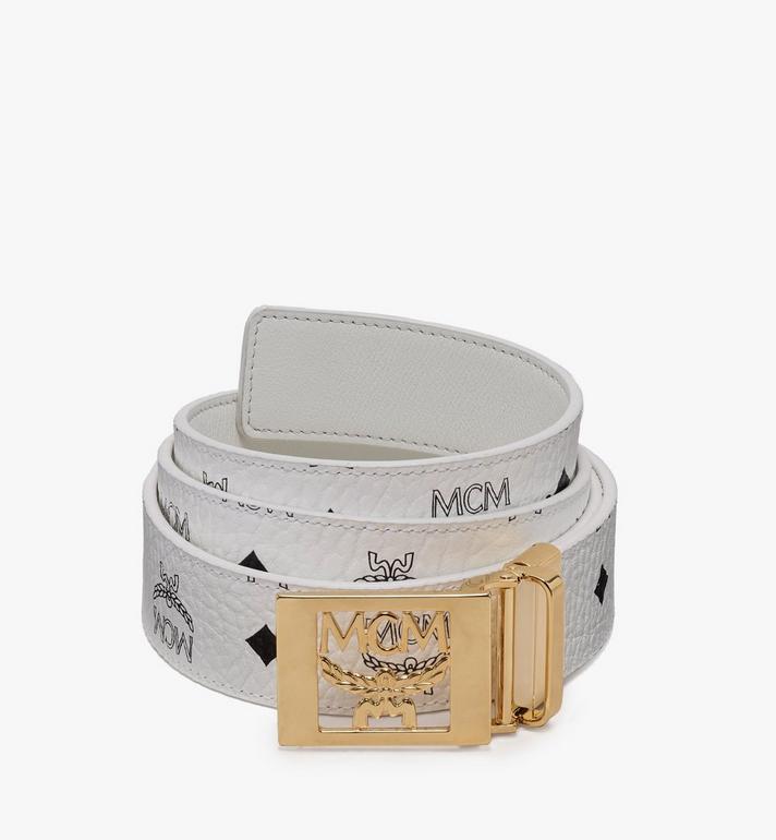 MCM MCM Collection Reversible Belt in Visetos Alternate View