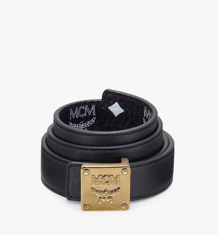 MCM Logo Plate Belt  MYB9AMM46BV090 Alternate View 2