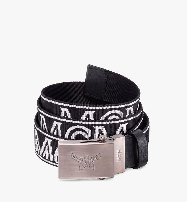MCM Logo Webbing Belt Alternate View 1