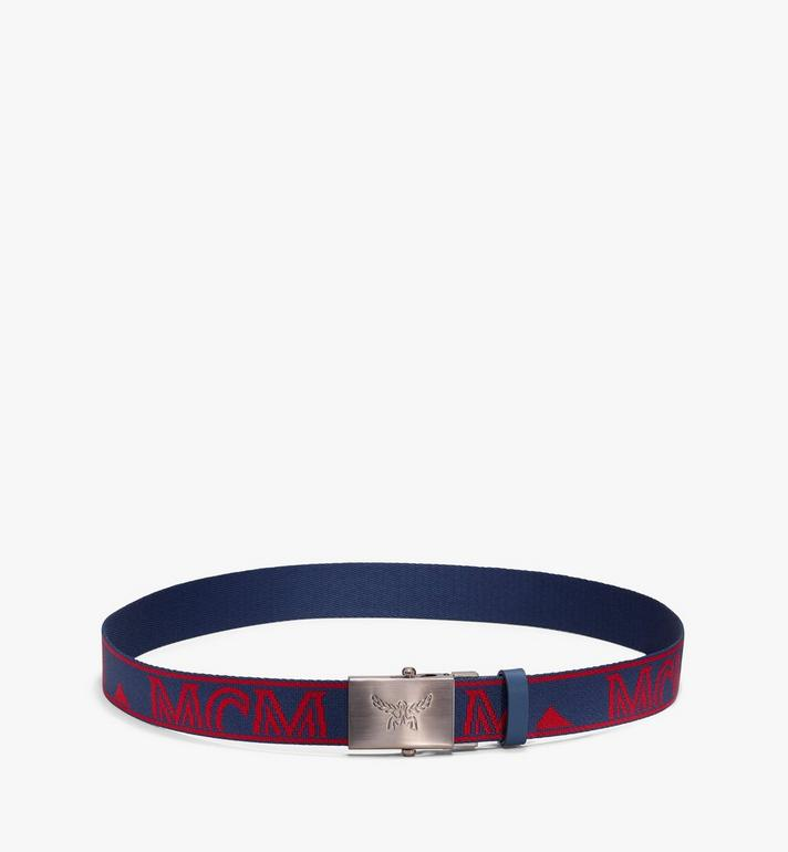 MCM Logo Webbing Belt Alternate View 2