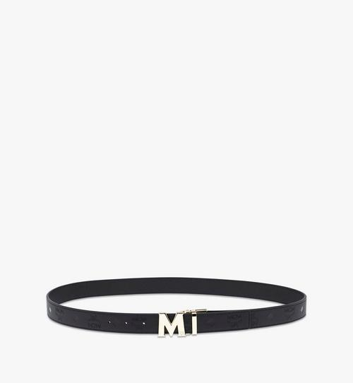 Claus M Reversible Belt in Monogram Leather