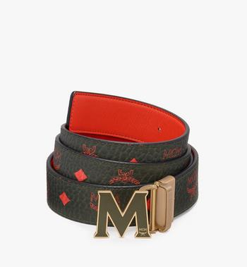 MCM Ceinture réversible Claus Flat M en Visetos Alternate View 1