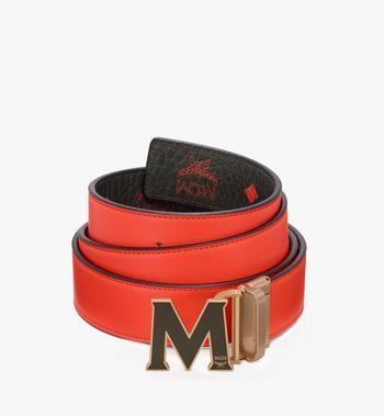 MCM Claus Flat M Reversible Belt in Visetos Alternate View 2