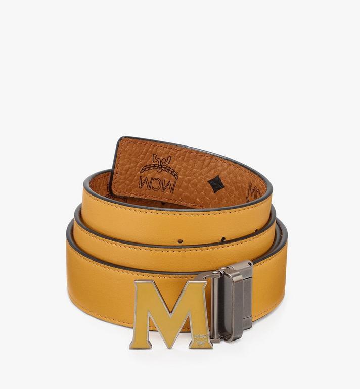 MCM Claus Flat M Reversible Belt in Visetos  MYB9AVI42CO001 Alternate View 2