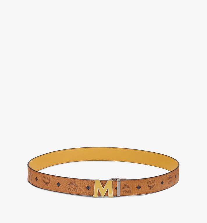 MCM Claus Flat M Reversible Belt in Visetos Alternate View 3