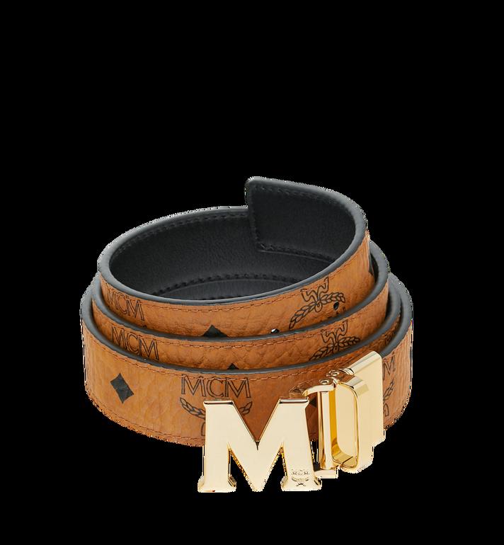 "MCM M Reversible Belt 1.2"" in Visetos Alternate View"