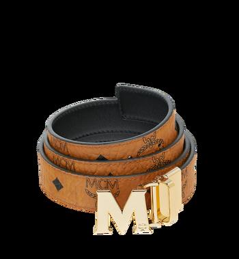 "MCM M Reversible Belt 1.2"" in Visetos MYB9SVC09CO001 AlternateView"