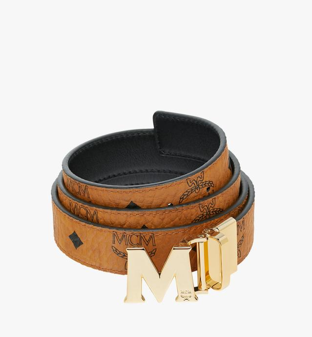 "M Reversible Belt 1.2"" in Visetos"