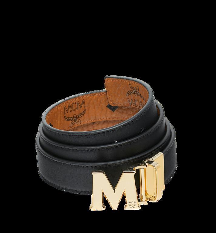 "MCM M Reversible Belt 1.2"" in Visetos Cognac MYB9SVC09CO001 Alternate View 2"