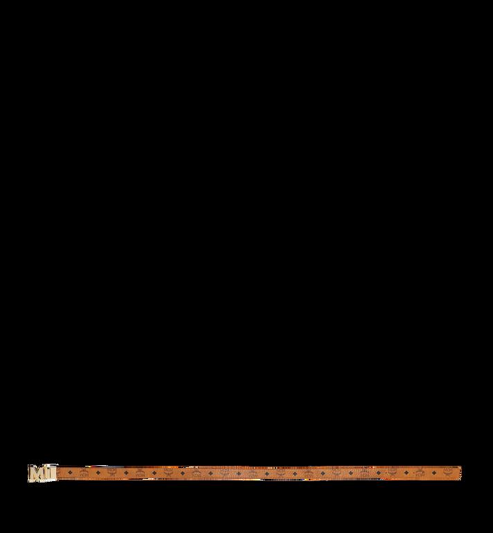 "MCM M Reversible Belt 1.2"" in Visetos Cognac MYB9SVC09CO001 Alternate View 3"
