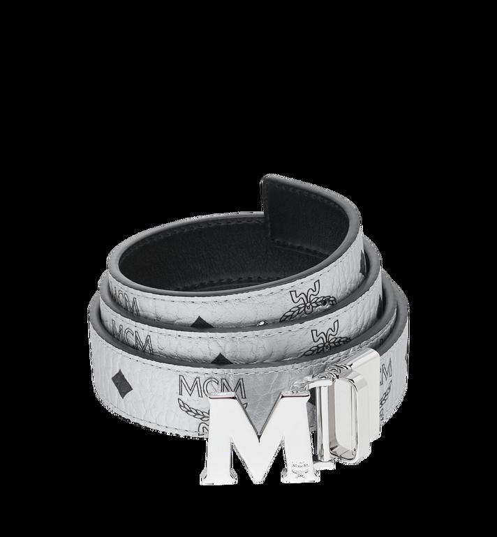 MCM Ceinture réversible M 3cm en Visetos Alternate View