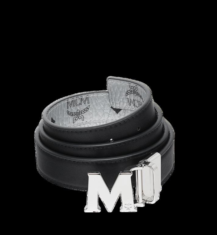 MCM Ceinture réversible M 3cm en Visetos Alternate View 2