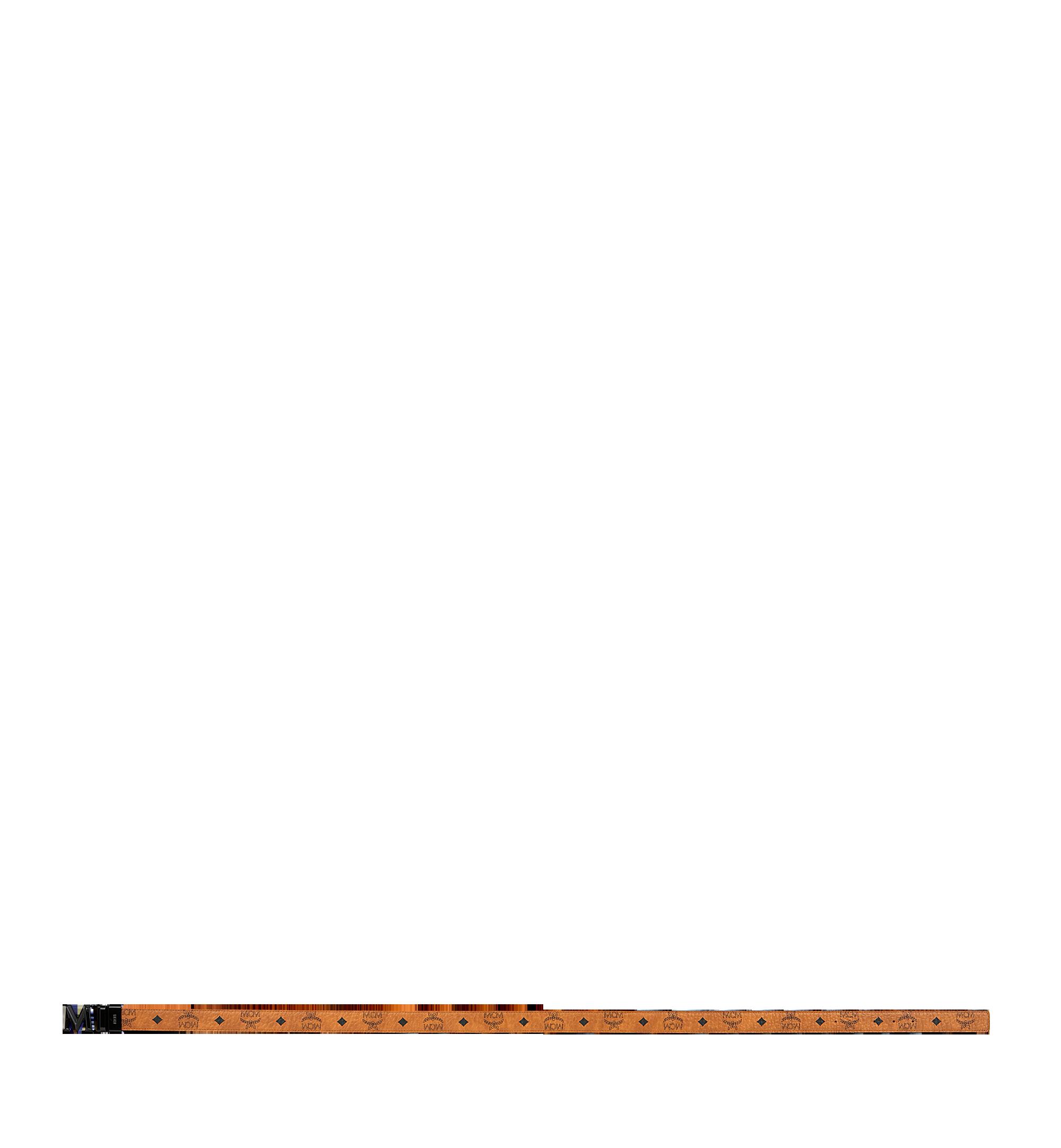 MCM Visetos 系列的 Claus 3D M 1.5 吋可翻轉皮帶 Cognac MYB9SVI33CO001 更多視圖 2