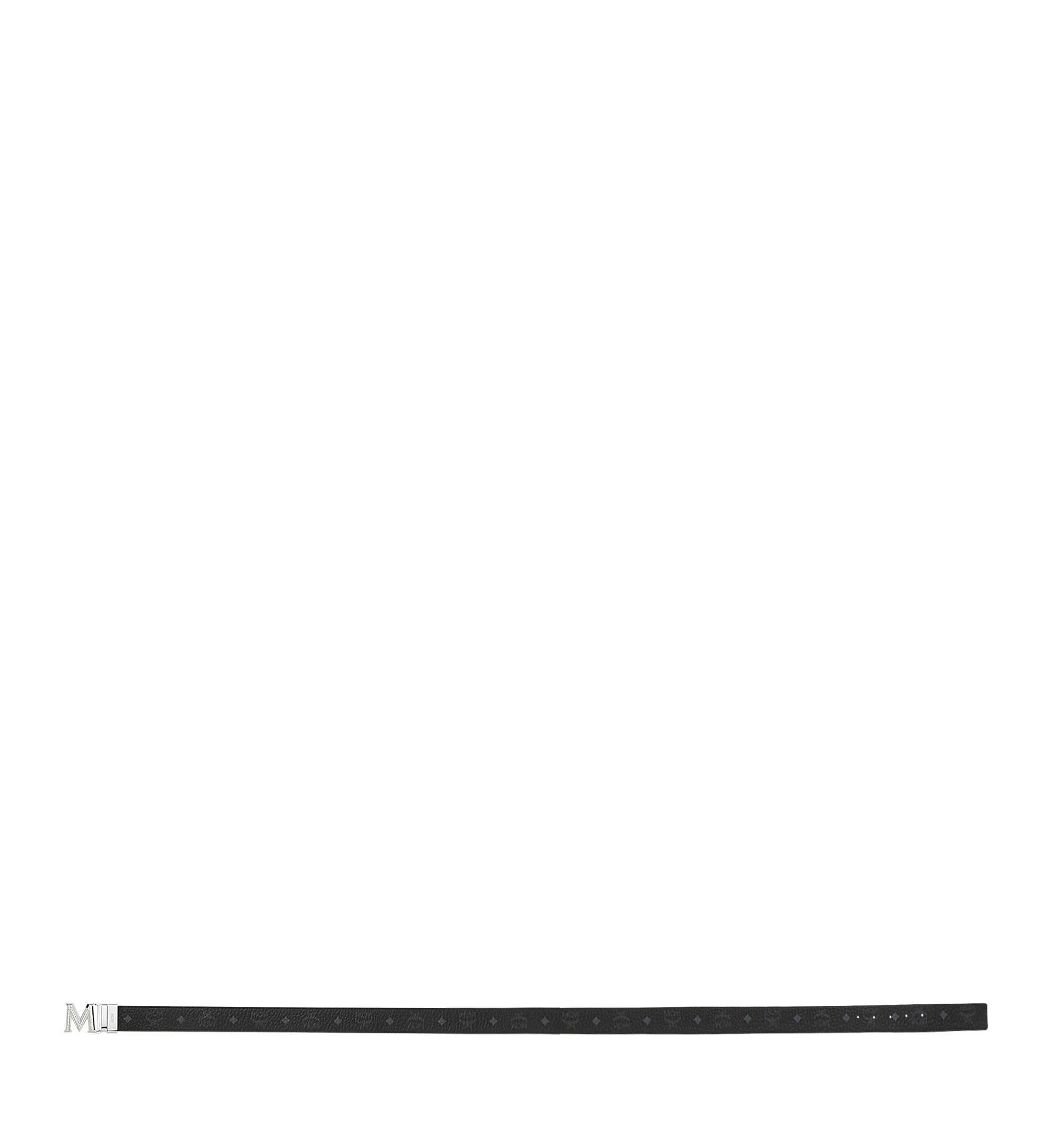 MCM Claus 3D M Wendegürtel 3,8 cm in Visetos Black MYB9SVI34BK001 Noch mehr sehen 2
