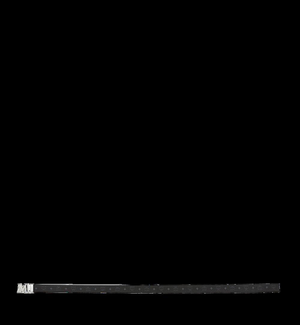 "MCM Claus 3D M Reversible Belt 1.5"" in Visetos Black MYB9SVI34BK001 Alternate View 2"