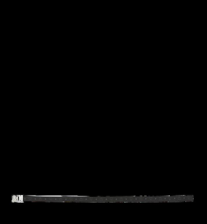 MCM Claus 3D M Wendegürtel 3,8 cm in Visetos Black MYB9SVI34BK001 Alternate View 3