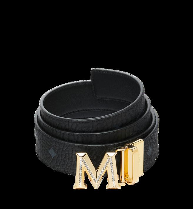 "MCM Claus 3D M Reversible Belt 1.5"" in Visetos Alternate View"