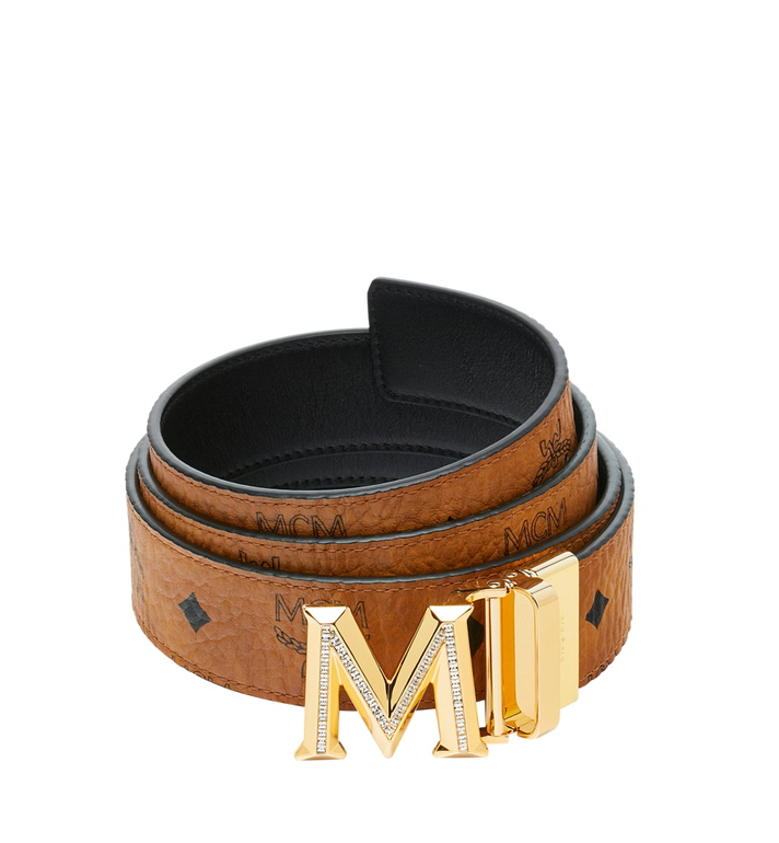 MCM 클라우스 3D M 리버서블 벨트 Alternate View
