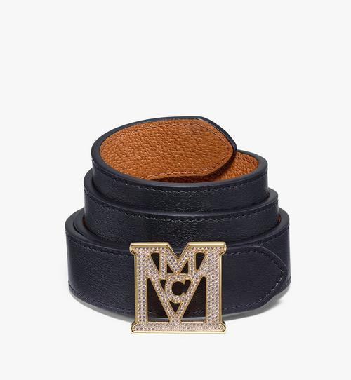 "Mena M 3D Reversible Belt 1"" in Visetos"