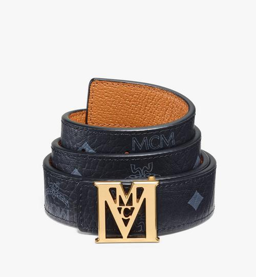 Mena M Reversible Belt 2.5 cm in Visetos
