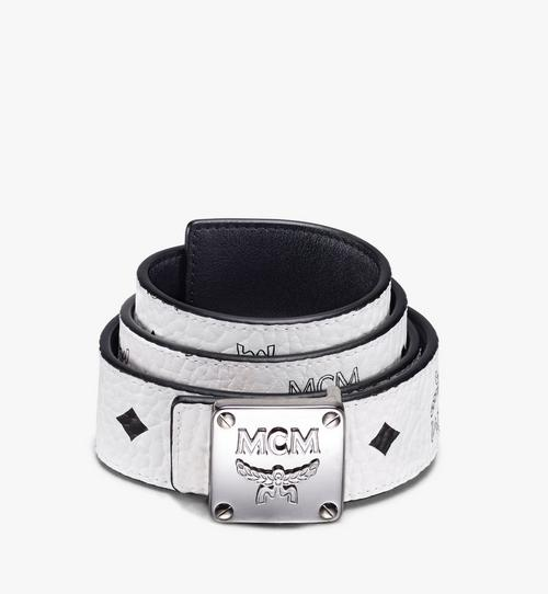 "MCM Collection Reversible Belt 1.5"" in Visetos"