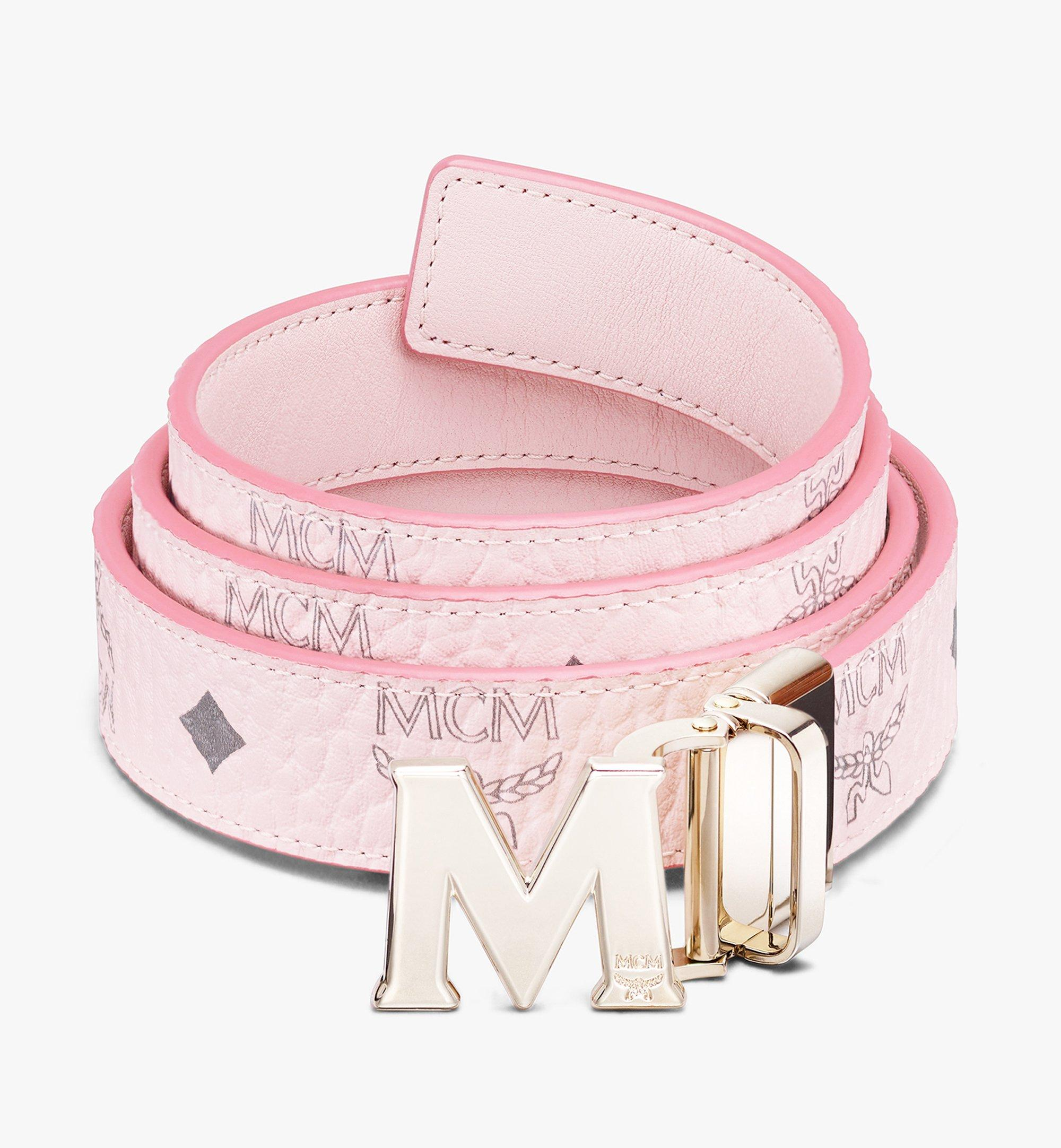 130 Cm 51 In Claus M Reversible Belt 1 In Visetos Pink Mcm Us Save mcm belt to get email alerts and updates on your ebay feed.+ mcm belt michael cromer munchen l44! 130 cm 51 in claus m reversible belt