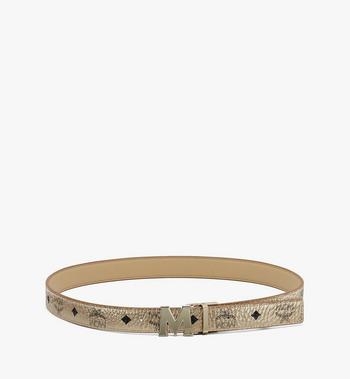 "MCM Claus M Reversible Belt 1"" in Visetos Alternate View 3"