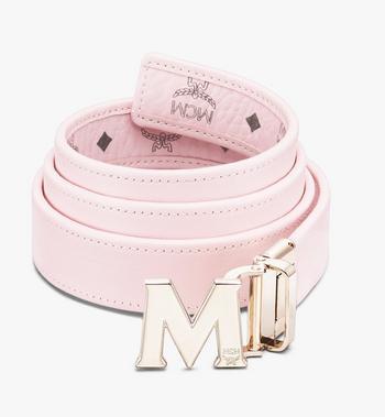 """MCM Claus M Reversible Belt 1"""" in Visetos Pink MYBASVI12QH001 Alternate View 2"""