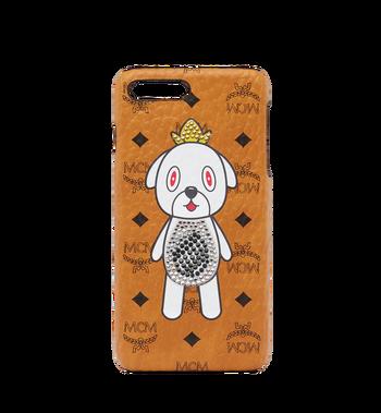 MCM MCM x Eddie Kang Gray iPhone 6S/7/8 Plus Case MYE8SOC04CO001 AlternateView
