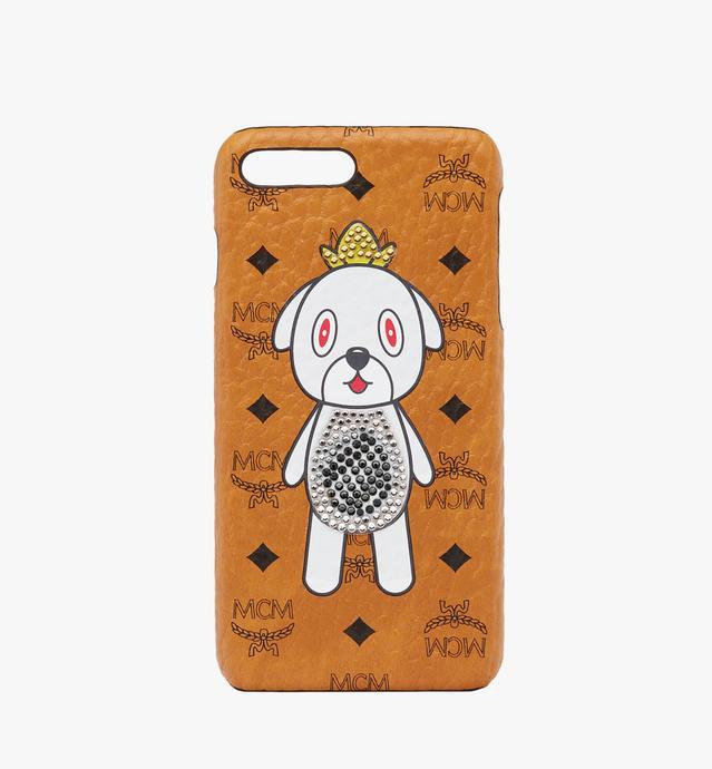 〈MCM x エディ・カン〉グレイ iPhone 6S/7/8 ケース