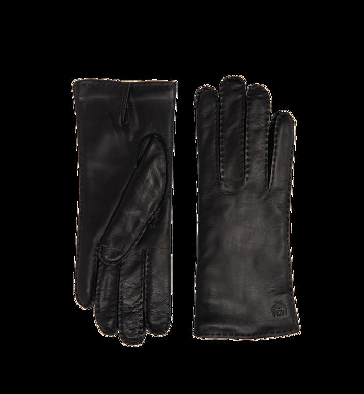 MCM Women's Gloves in Leather MYG7AMM15BK00M AlternateView