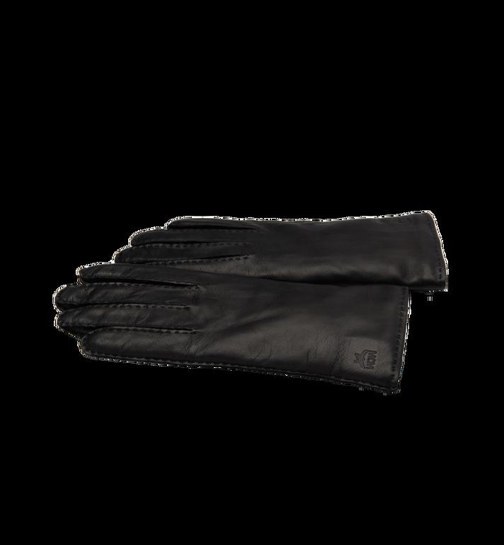 MCM Women's Gloves in Leather MYG7AMM15BK00M AlternateView2
