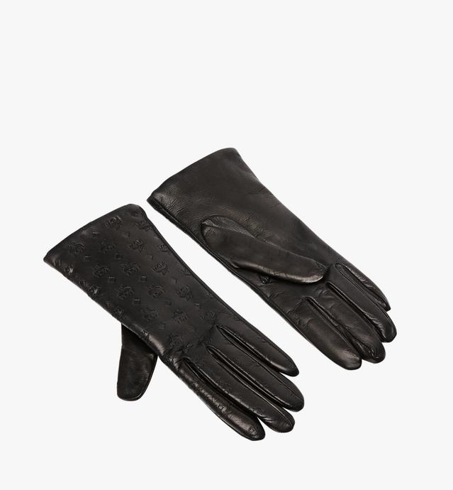 Women's Monogram Leather Gloves
