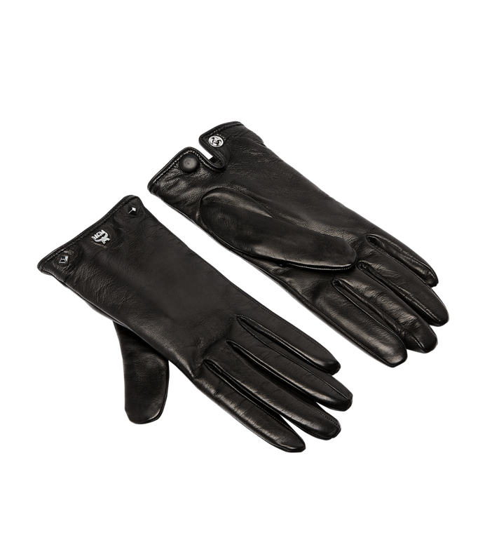 MCM Women's Studded Leather Gloves Alternate View
