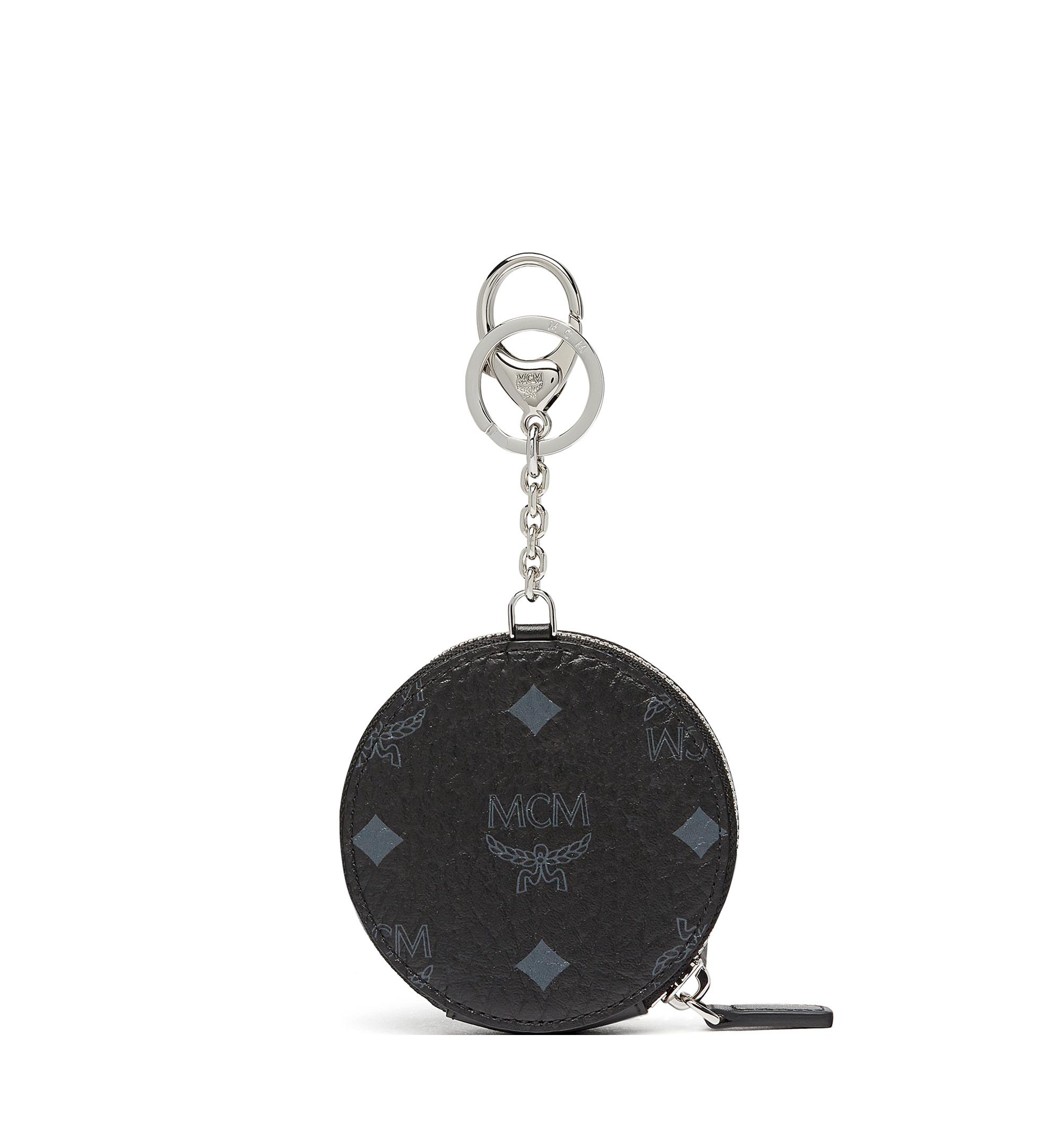 MCM กระเป๋าเพาช์ใส่เหรียญลาย Visetos Original Black MYI8SVI13BK001 มุมมองอื่น 2